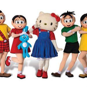 Mónica y Hello Kitty juntas en un gran espectáculo musical