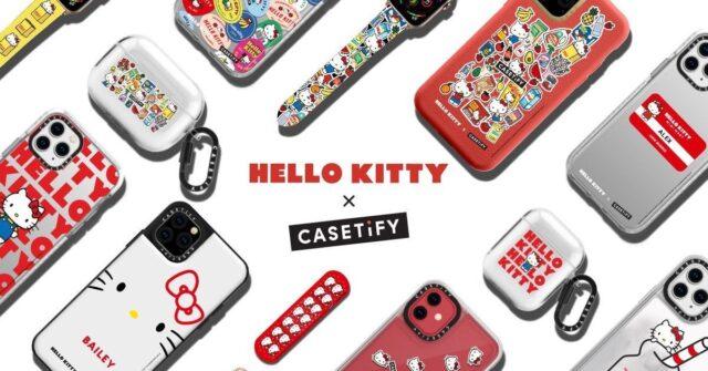 CASETIFY lanza una colección de protectores para celulares inspirada en Hello Kitty