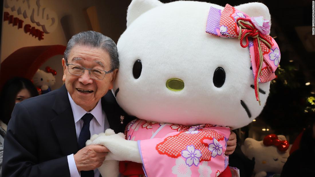 Shintaro Tsuji, fundador de Sanrio, entregará el control de la empresa a su nieto
